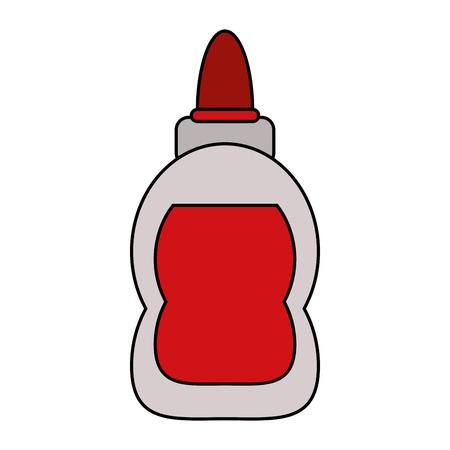 Glue bottle isolated icon vector illustration graphic design
