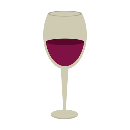 Cup of wine icon vector illustration graphic design Illustration