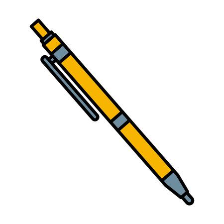 Ballpoint pen isolated icon vector illustration graphic design Illustration