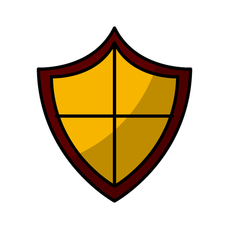 Badge antivirus symbol icon vector illustration graphic design