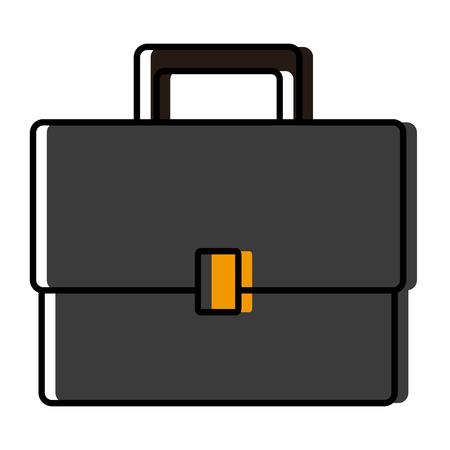 Business briefcase symbol icon vector illustration graphic design
