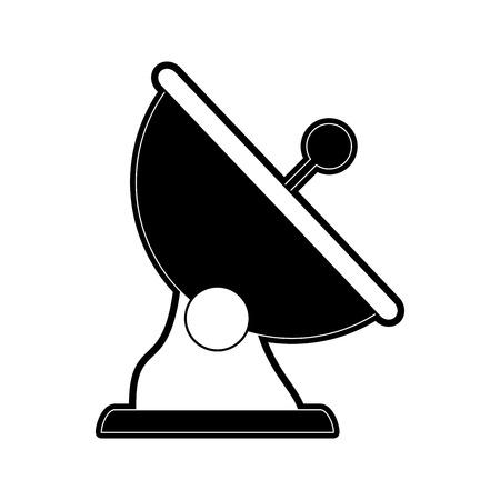 Van de de technologie het grafische illustratie van de antennecommunicatietechnologie vectorillustratie Stockfoto - 89970612