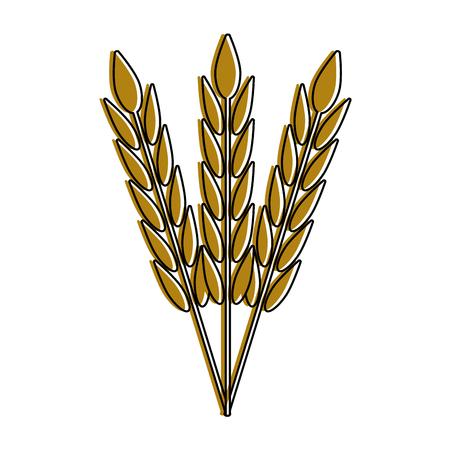 Wheat harvest food icon vector illustration graphic design Illustration