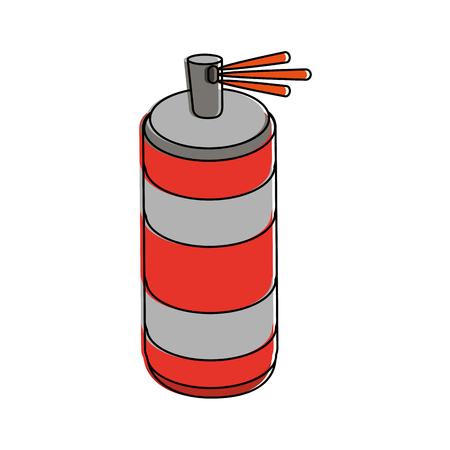 Spray painting bottle icon vector illustration graphic design Illustration