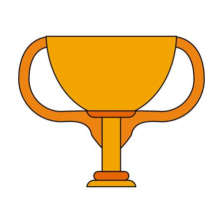 Cup trophy symbol icon vector illustration graphic design