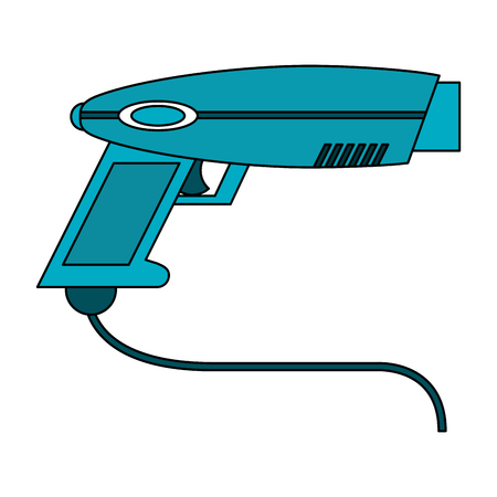 Virtual reality handgun icon vector illustration graphic design Illustration