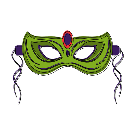Mask icon vector illustration graphic design Illustration