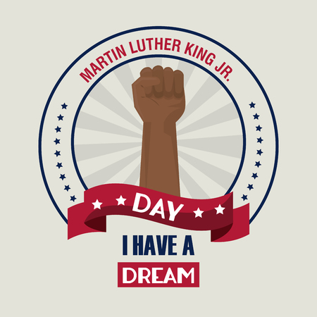 Martin luther king JR day icon vector illustration graphic Иллюстрация