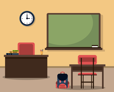 Classroom elements design icon vector illustration graphic design 일러스트