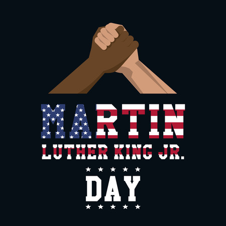 Martin luther king JR day icon vector illustration graphic Ilustracja