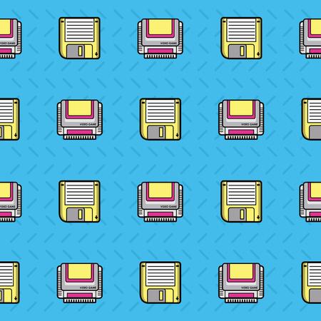 90s background style icon vector illustration graphic design Illustration