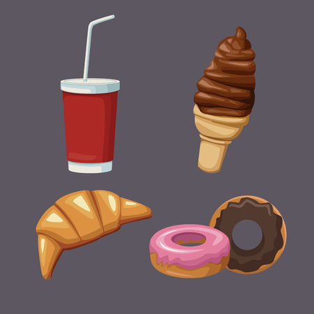 Desserts and sweets icon vector illustration graphic design