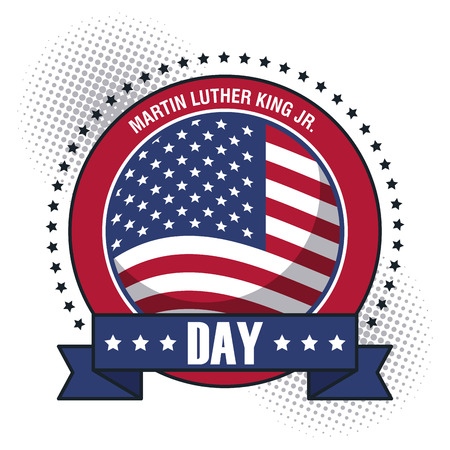 Martin Luther König JR Tag Symbol Vektor Illustration Grafik