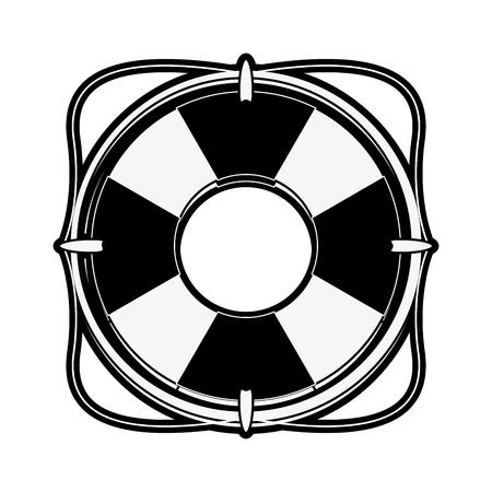 Lifesaver flaot symbol icon vector illustration graphic design