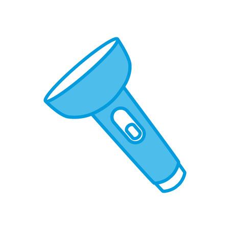 Flashlight isolated symbol icon vector illustration graphic design