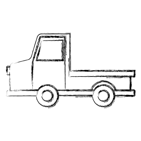 Pick up vehicle icon vector illustration graphic design 向量圖像