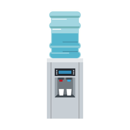 Office water dispenser icon vector illustration graphic design Illustration