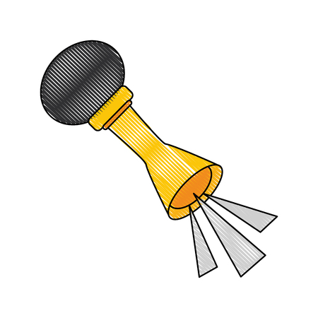 old air horn icon vector illustration graphic design Illustration