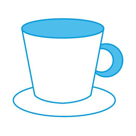Porcelain mug isolated icon vector illustration graphic design