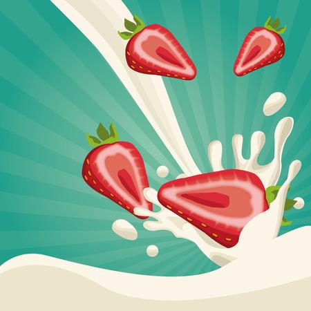 Progettazione grafica dell'illustrazione di vettore dell'icona dell'alimento della farina d'avena sana Archivio Fotografico - 90416955