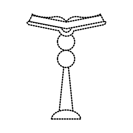 saint bible ouverte icône vecteur illustration graphisme