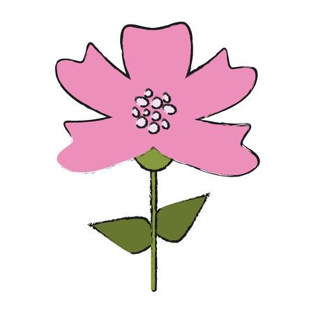 Beautiful flower bouquet icon vector illustration graphic design Illustration