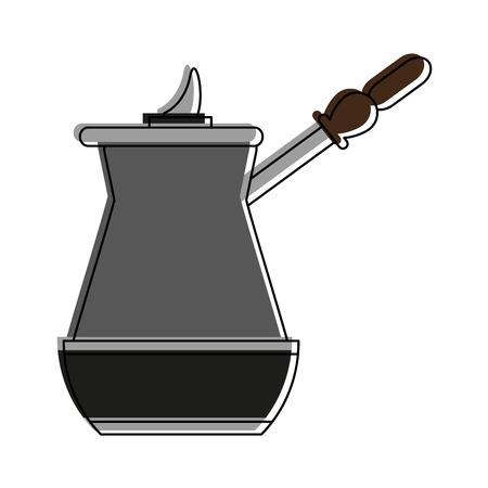 Old cofffee maker icon vector illustration graphic design