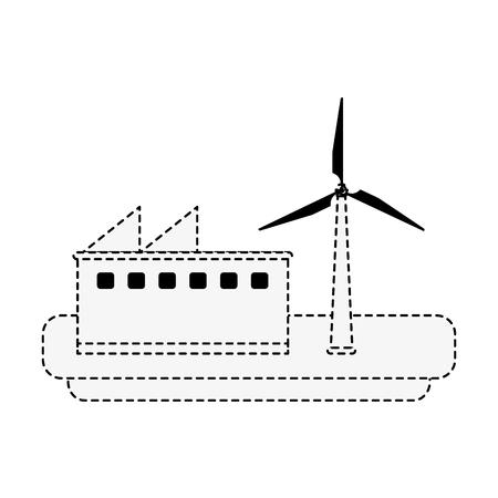 Solar panels energy icon vector illustration graphic design