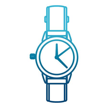 Mens luxury wristwatch icon vector illustration graphic design 일러스트