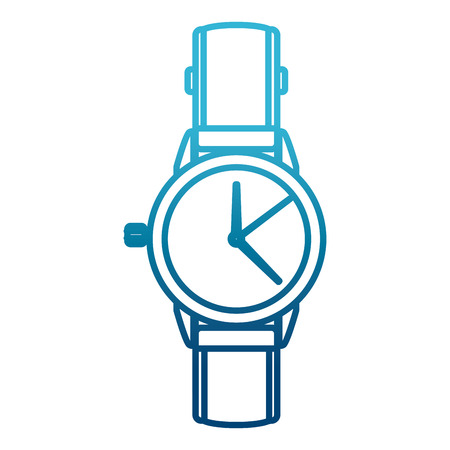 Mens luxury wristwatch icon vector illustration graphic design Vectores