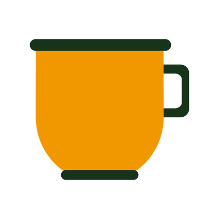 Coffee porcelain cup icon vector illustration graphic design