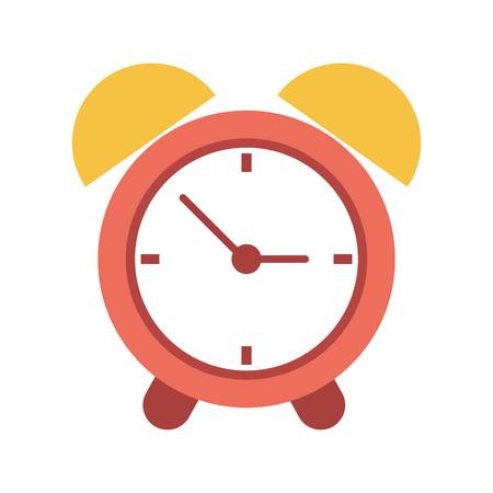 Classic alarm clock icon vector illustration graphic design