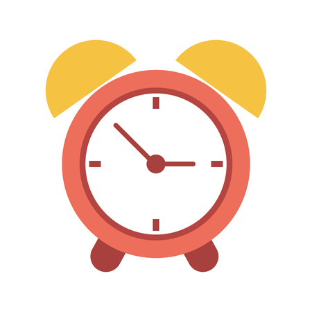 Classic alarm clock icon vector illustration graphic design