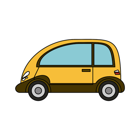 Coupe car vehicle icon vector illustration graphic design Illustration