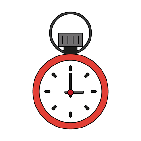 Classic sport chronometer icon vector illustration graphic design Illustration