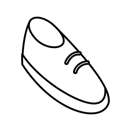 Shoe cartoon isolated icon vector illustration graphic design