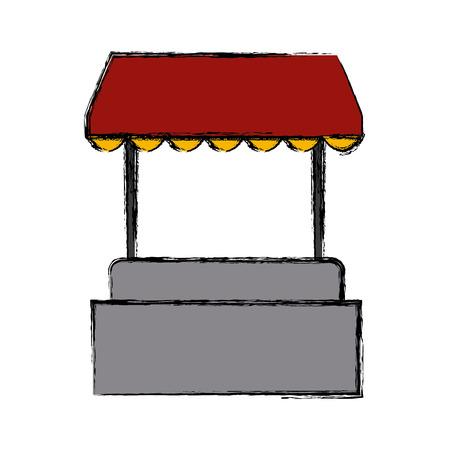 Hot dog stand icon vector illustration graphic design