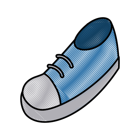 Shoe cartoon isolated icon vector illustration graphic design