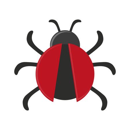 Bug virus symbol icon vector illustration graphic design