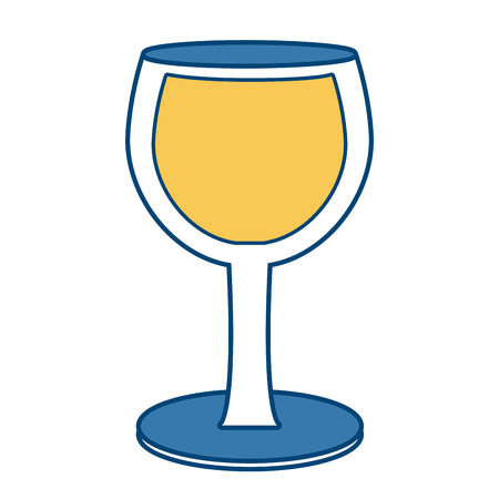 Glass cup isolated icon vector illustration graphic design
