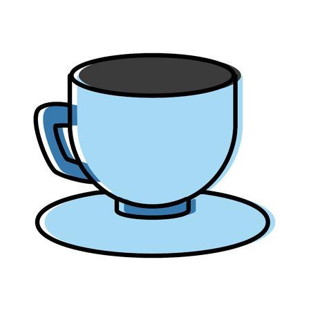 Coffee cup drink icon vector illustration graphic design