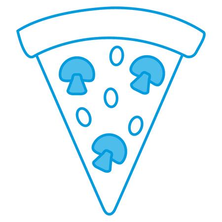 Pizza italian food symbol icon vector illustration graphic design Illustration