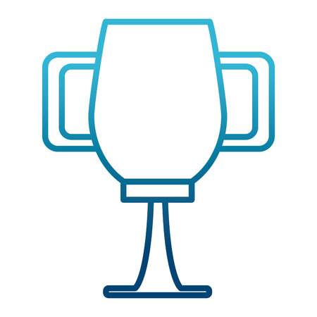 Trophy cup symbol icon vector illustration graphic design Illusztráció