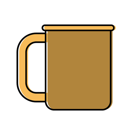 Porcelain cup mug icon vector illustration graphic design