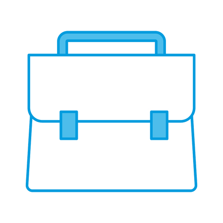 Business briefcase isolated icon vector illustration graphic design 일러스트