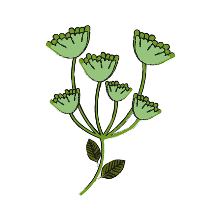 asparagus vegetable food icon vector illustration graphic design Vettoriali