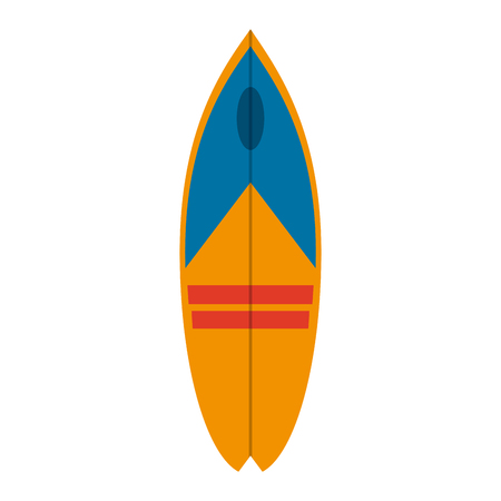 Surf table isolated icon vector illustration graphic design