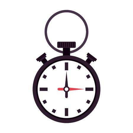 Chronomter sport timer icon vector illustration graphic design Illustration