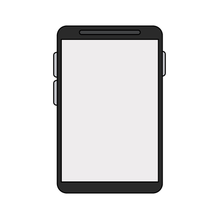 Smartphone mobile technology icon vector illustration graphic design