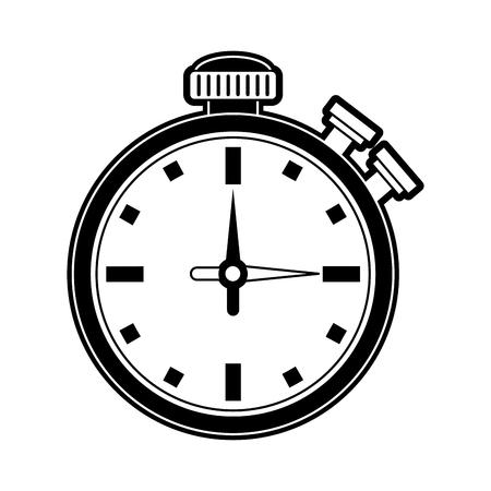 Chronometer sport timer icon vector illustration graphic design.